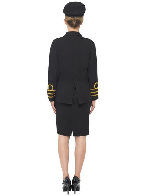 Marineoffizier Kostüm für Damen