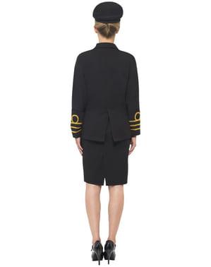 Costum de ofițer de marină pentru femeie