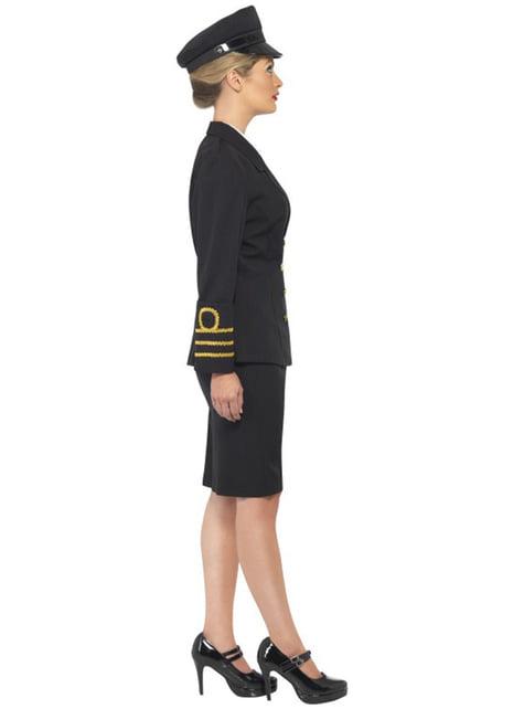 Dámský kostým námořní důstojnice