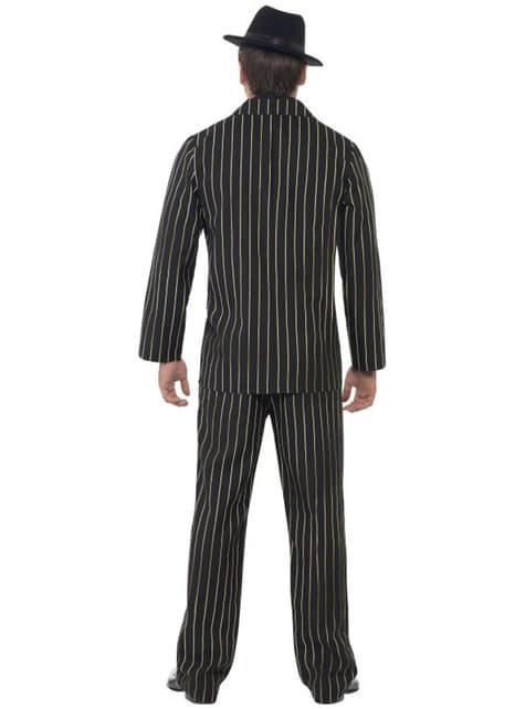 Disfraz de gángster años 20 - hombre