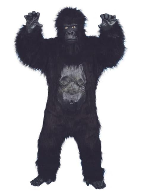 Déguisement de gorille de luxe