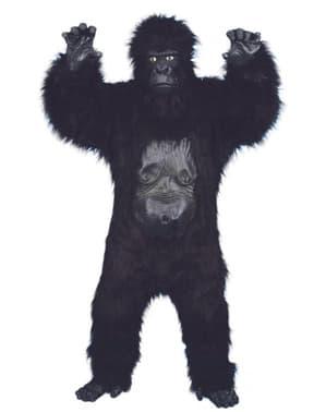 Gorilla felnőtt jelmez