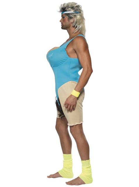 Fitness Chick kostuum voor mannen