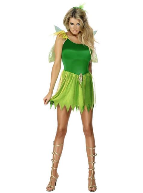 Disfraz de hada de los bosques - mujer