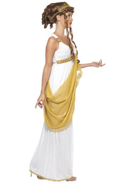 Veistoksellinen Kreikkalainen Jumalatar Asu