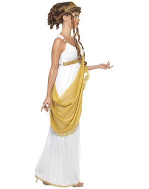 Statylik Grekisk Gudinna Maskeraddräkt