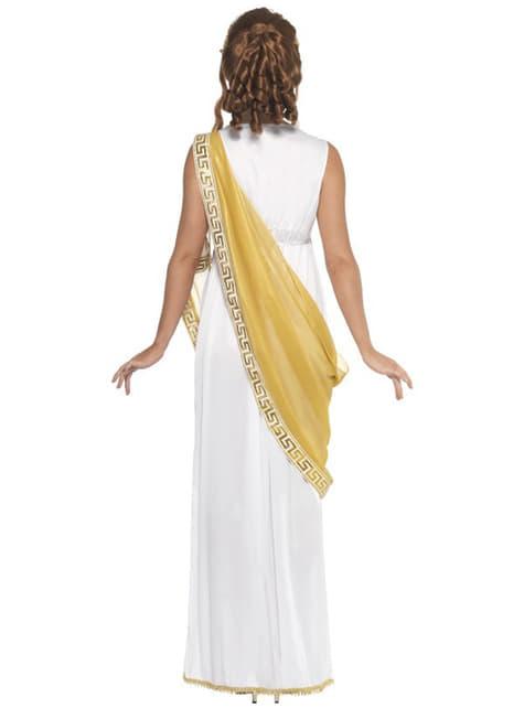 Statuelik gresk gudinne kostyme