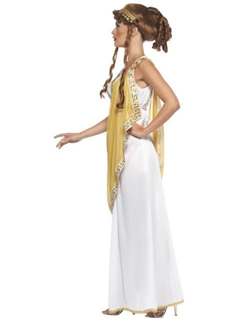 Costume da Dea greca scultorea