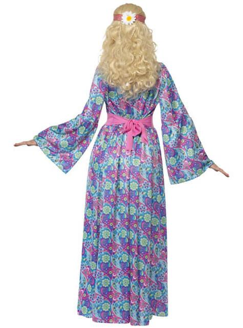 Disfraz de hippie elegante - mujer