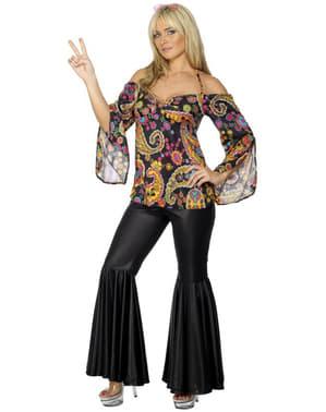 Sexy Hippie Kostyme Dame