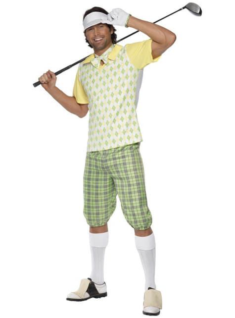 Pánský kostým profesionální golfista