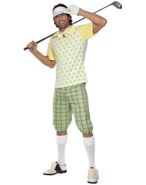 Costume da golfista per uomo