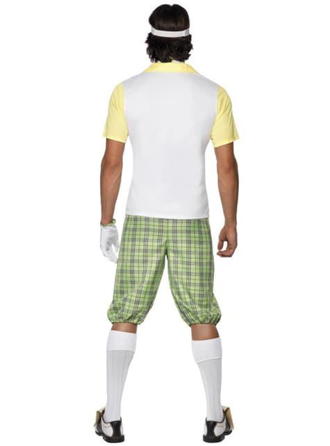 男性のためのゴルファーのコスチューム