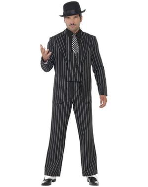 Costum de șef gangster vintage