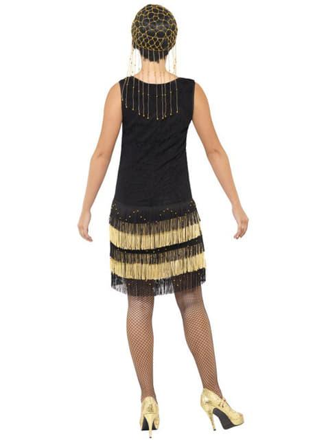 Disfraz de años 20 con flecos - mujer