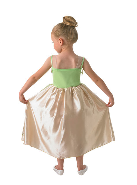 Deluxe Tiana costume for girls - The Princess and the Frog