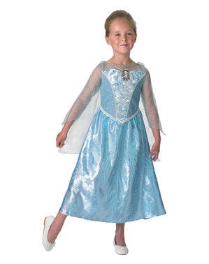 Muzikálový Dívčí kostým Elsa - Ledové království