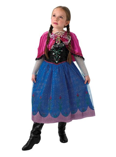 Anna Frozen musical costume for girls - Frozen