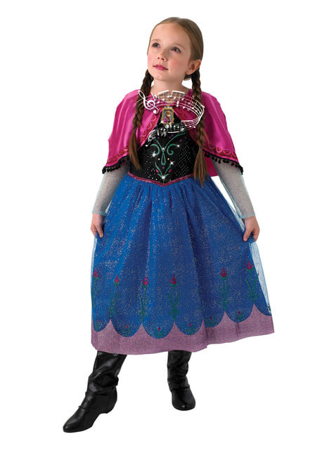 Disfraz de Anna Frozen musical para niña - Frozen - niña