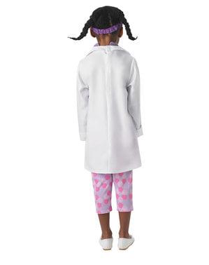 Costume Dottoressa Peluche deluxe per bambina