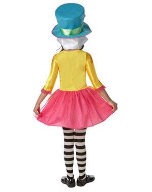 Fato de Chapeleiro Louco para menina - Alice no País das Maravilhas