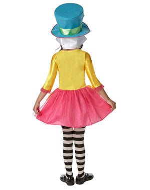 The Mad Hatter costume for girls - Alice in Wonderland