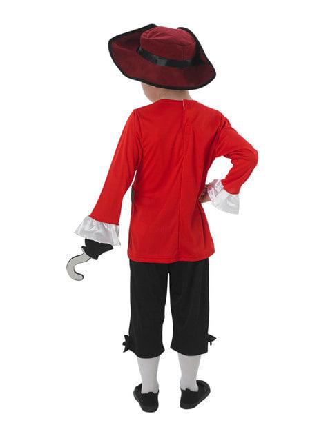 Disfraz de Capitán Garfio para niño - infantil