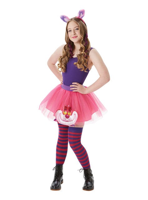 Cheshire Cat Accessory Set for Girls - Alice In Wonderland