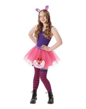 Cheshire Cat tilbehørssett til dame - Alice i Eventyrland