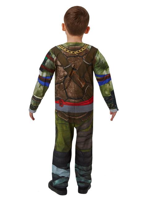 Muskulöses Ninja Turtle Kostüm für Jungen - Teenage Mutant Ninja Turtles - Aus den Schatten