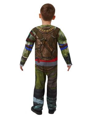 男の子のためのMuscly Teenage Mutant Ninja Turtlesコスチューム - 影の中からTeenage Mutant Ninja Turtles
