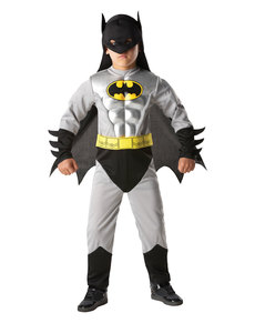 Disfraz de Batman metálico para niño - DC Comics