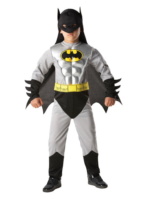 Metallic Batman costume for a boy - DC Comics