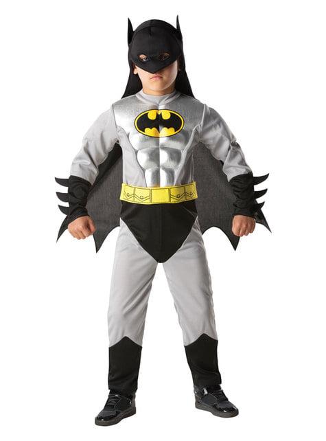 Metallic Batman costume for a boy - DC Comics
