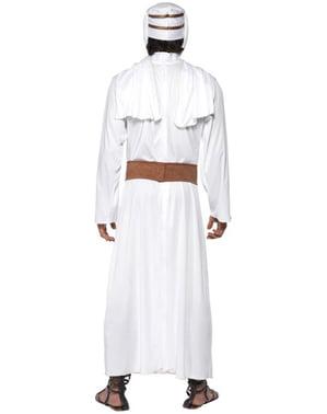 Hvidt Arabisk Kostume