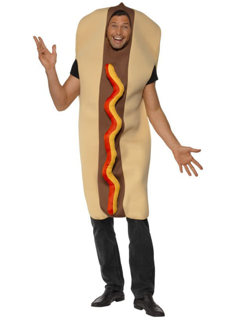 Stort hotdogkostume