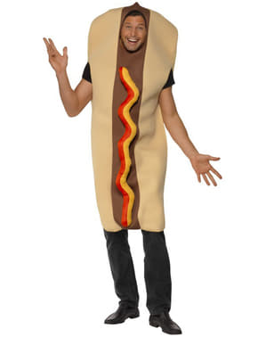 Costume da hot dog gigante