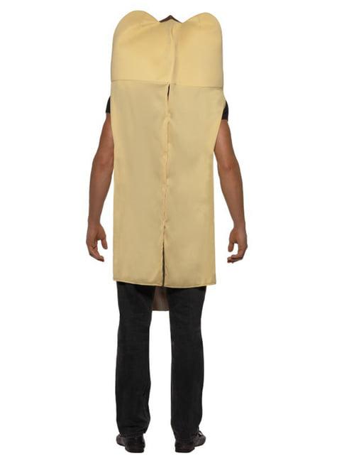 Disfraz de perrito caliente gigante - hombre