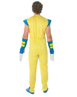 पुरुषों के लिए डीलक्स वूल्वरिन पोशाक - एक्स-मेन