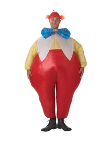 Tweedledee og Tweedledum kostume til voksne