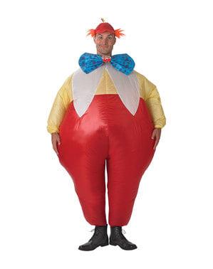Tweedledee og Tweedledum kostyme til voksne
