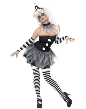 Vészjósló Pierrot jelmez