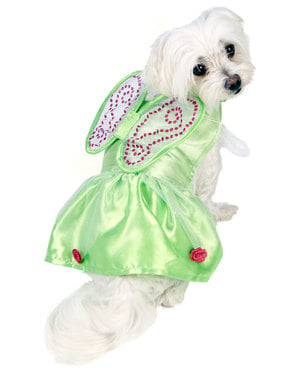Tinkerbell kostuum voor honden