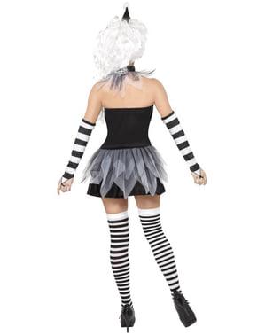 Siniester Pierrot Kostyme