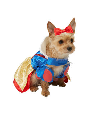 Costume di Biancaneve per cane