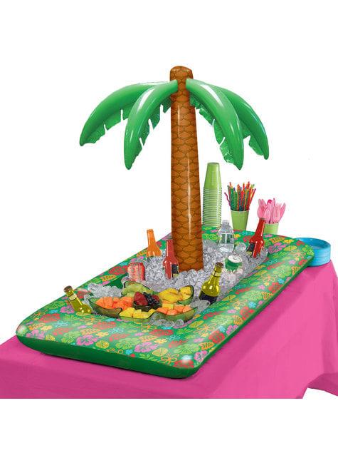 Gonflable tropical avec palmier