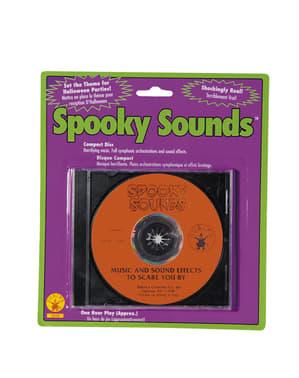 CD kauhistuttavilla äänitehosteilla