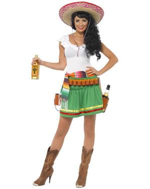 Déguisement mexicaine tequila shooter femme