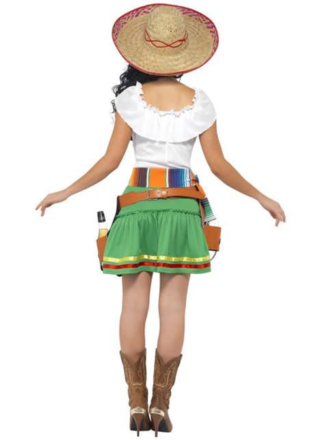 Γυναικεία Στολή Μεξικάνα με Σφηνάκια Τεκίλας