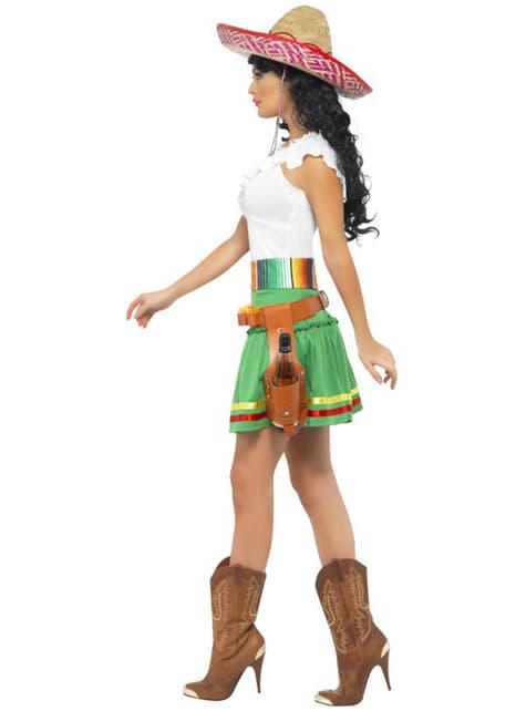 Disfraz de tiradora de tequila